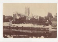 Worcester Cathedral From River SW 1912 RP Postcard 360a