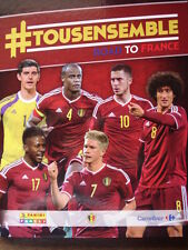PANINI BINDER + ALL 180 CARDS RED DEVILS TOUSENSEMBLE ROAD TO FRANCE