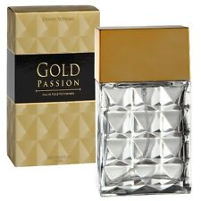 GOLD PASSION for Men Herren Eau de Toilette 90ml EdT. Danny Suprime Parfüm