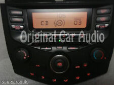 03 04 05 06 07 HONDA Accord Radio Stereo CD Player 2AA1 Climate Temp Controls