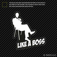 Like A Boss Sticker Decal Self Adhesive Vinyl jdm euro