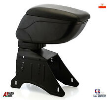BLACK Armrest Arm rest Sliding Folding box for Seat Ibiza Toledo Leon Altea Mii