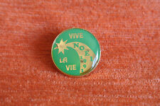 12221 PIN'S PINS ASSOCIATION VIVE LA VIE NOEL 1991