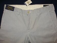 PANTALONI RALPH LAUREN SLIM FIT W34 / L30 - PANTS TROUSER SEERSUCKER W34 / L30