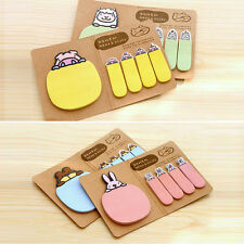Cute Personalized Animal Sticker Post It Bookmark Marker Memo Flag Notes