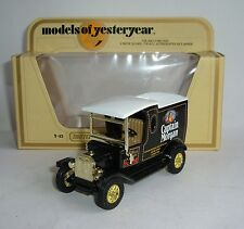 Matchbox Yesteryear No. Y-12, 1912 Ford Model 'T', 'Captain Morgan' - Superb.