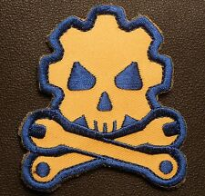 DEATH MECHANIC USA ARMY MORALE COMBAT COLOR VELCRO® BRAND FASTENER PATCH