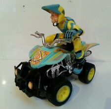 "SCOOBY-DOO: SHAGGY 7"" ATV QUAD Vehicle, Hanna-Barbera, 2010, Damaged"