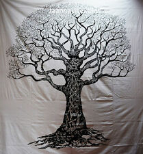 Indian Tree of Life Wall Hanging Twin Tapestries Bedspread Throw Ethnic Decor_o
