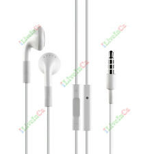 Ear Bud Ear Phone For Apple iPhone 3GS 4 4S 5 Headset Handset Microphone Volume