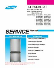 Samsung RB217ACRS RB217ACWP RB217ACBP RB217ACPN Service Manual Repair Guide