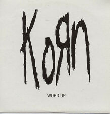 "KORN ""WORD UP"" RARE AND EXCLUSIVE SPANISH PROMOTIONAL CD SINGLE"