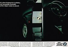 Publicité advertising 1989 (2 pages) BMW 324 td serie 3
