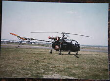 AVIATION, PHOTO HELICOPTERE SE 3130 ALOUETTE II