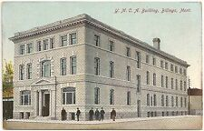 Y.M.C.A. Building in Billings MT Postcard