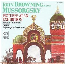 Pictures at an Exhibition (Browning) CD NEW