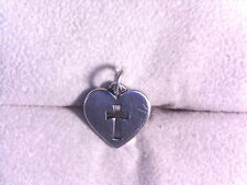 JAMES AVERY, CROSSLET HEART, .925, 23% OFF RETAIL!! (16303088)