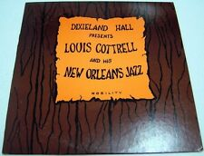 LOUIS COTTRELL and his New Orleans Jazz Band LP dixieland hall nobility 1963