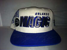 Vtg Orlando Magic Sports Specialties NBA Snapback hat Autographed Dwight Howard