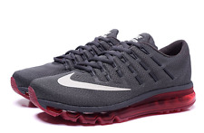 Brand New MEN'S NIKE AIR MAX 2016 RUNNING SHOE 806771-016 Grey/Red SZ 11