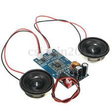 Bluetooth Audio Amplifier Receiver Board & 2x Speakers With Line For Balance Car