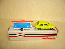 1/55 MAJORETTE : FIAT 127 + Camping trailer  nr. 372 -  near MINT IN BOX
