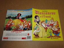 ALBUM DI FIGURINE  PANINI VUOTO BIANCANEVE ANNO 1994