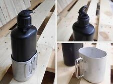 L@@K Cool Genuine Swiss Army Canteen with Cup Military Surplus camping survival