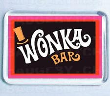 WONKA BAR FRIDGE MAGNET - RETRO COOL!
