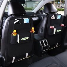 NEW Black Car Auto Vehicle Seat Back Hanger Holder Organizer Pocket Storage Bag