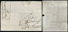 FRANCE 1793 REVOLUTIONARY CALENDAR...LETTER to PORT MAURICE