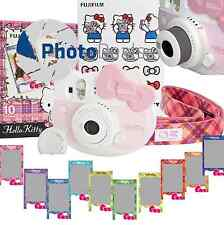 Fujifilm Instax Mini 8 Hello Kitty Fuji Instant Camera + 10 Prints Kit