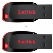 SanDisk Cruzer Blade 16GB Pen Drive COMBO OFFER (2 Pieces) 16 GB with wrnty SMP2