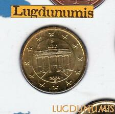 Allemagne 2004 10 centimes G Karlsruhe BU FDC provenant coffret 106000 exemplair