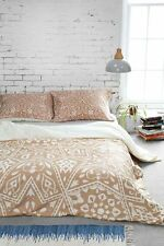 NEW URBAN OUTFITTERS DENY DESIGNS BROWN AMIRAH DUVET COVER BY AIMEE ST HILL TWIN