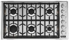"Viking 5 Series 36"" Gas Cooktop - FREE FREIGHT! - VGSU5366BSS"