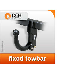 Fixed towbar hook swan neck Vauxhall Combo D 2012 onwards