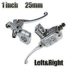 """Universal 1"""" inch 25mm Left Right Motorcycle Brake Master Cylinder Clutch Lever"""