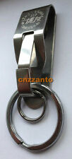 Stainless steel Quick release Keychain Belt Clip key ring snap holder Z1901