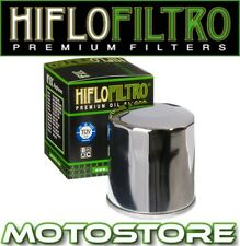 HIFLO CHROME OIL FILTER FITS HONDA CB600 F S HORNET 1998-2002