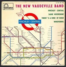 THE NEW VAUDEVILLE BAND FINCHLEY CENTRAL 45T EP BIEM FONTANA 465.381