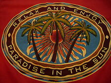 Palm Springs CA Relax and Enjoy Paraside in the Sun T-Shirt Size S
