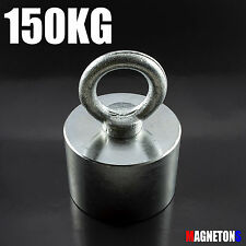 Metalldetektor NEODYM MAGNETE 150KG Suchmagnet zur Suche SUUUUPER STRONG