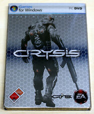 CRYSIS - SPECIAL EDITION IM STEELBOOK - MIT SOUNDTRACK ARTBOOK BONUS FEATURES PC