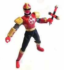 "12"" 1/6th NINJA STORM POWER RANGERS figure with weapon & removable helmet"