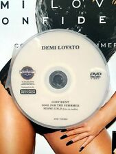 Demi Lovato 3 music videos DVD Confident Cool for the Summer  Stone Cold (not CD
