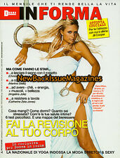 Italian Donna In Forma 7/07,Paris Hilton,Teri Hatcher,July 2007,NEW