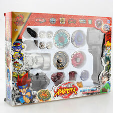 Kampf Kreisel Beyblade Metal Fusion + Launcher Rotate Rapidity Master Fight Set