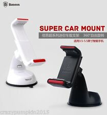 Baseus 360 Super Car Mount Mobile Holder Windshield Stand For Samsung Apple Etc.