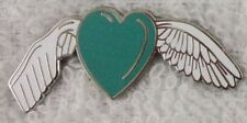 *NEW* Liver Cancer / Disease Awareness Remembrance angel enamel badge. Charity